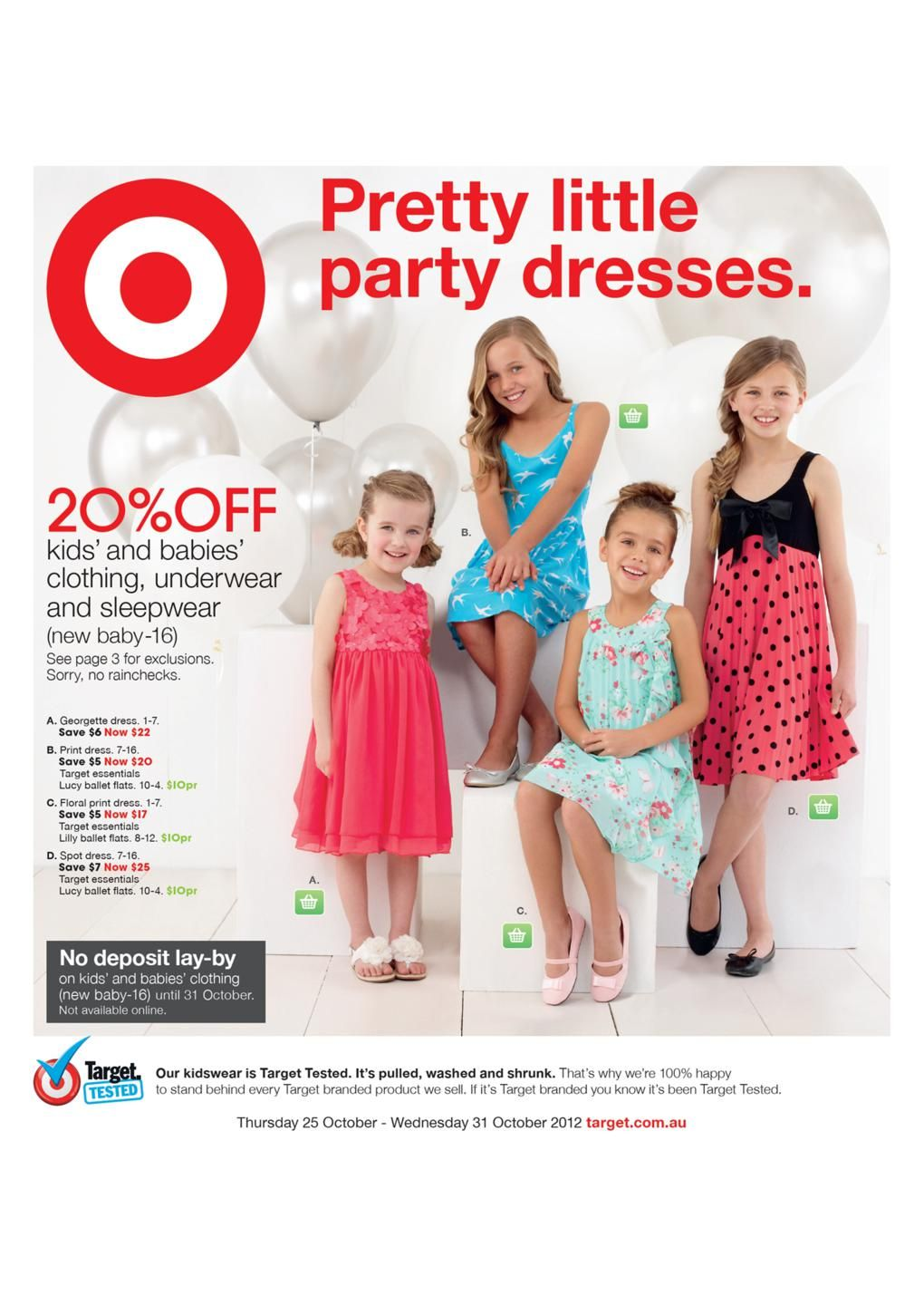 Target Catalogue Shoes And Kids Clothing Deals C