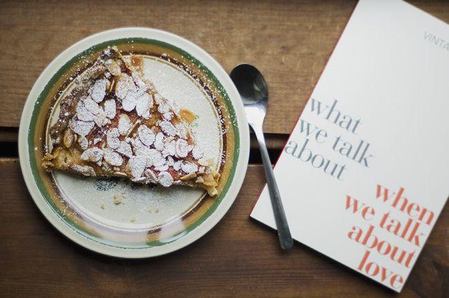 Apple/almond/cheesecake pie