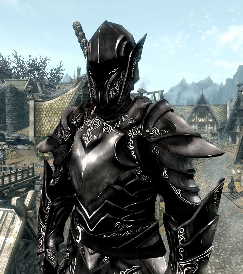 Ebony armor skyrim code
