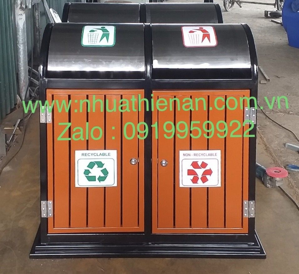 Outdoor dustbin with high-grade electrostatic spray paint – Thien Plastic…