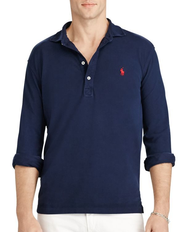 63ab738cc Polo Ralph Lauren Featherweight Mesh Slim Fit Polo Shirt