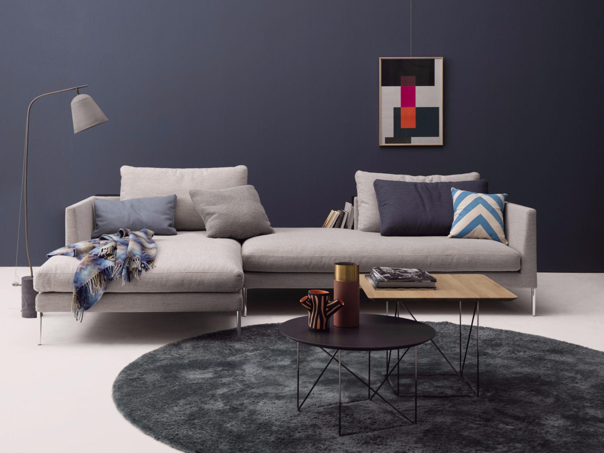 pilotis fabric sofa pilotis collection by cor sitzmbel helmut lbke ...