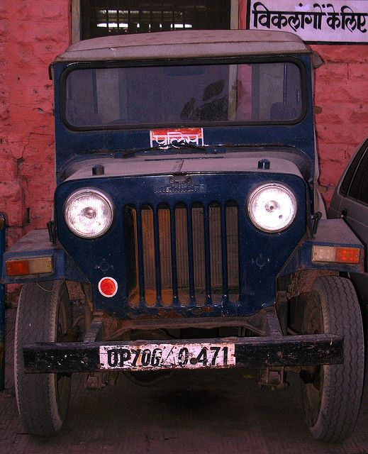Indian Police Jeep Mahindra Jeep Jeep Rescue Vehicles