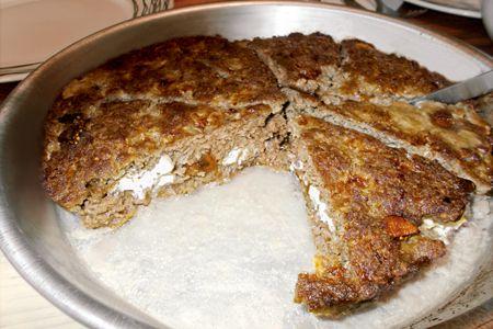 Μπιφτέκι ταψιού γεμιστό - Συνταγές | γαστρονόμος