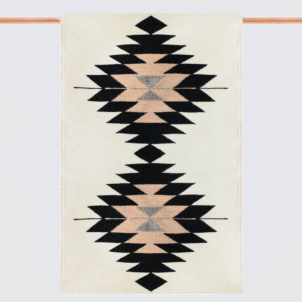 Tierra Accent Rug Zapotec Rugs Neutral Rugs Wall Hanging
