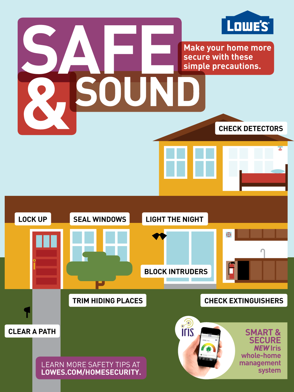 Make Your Home More Secure Home safety tips, Home safety