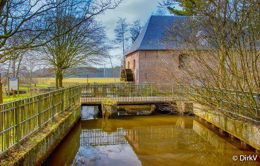 Watermolen, Retie, Kempen, België.