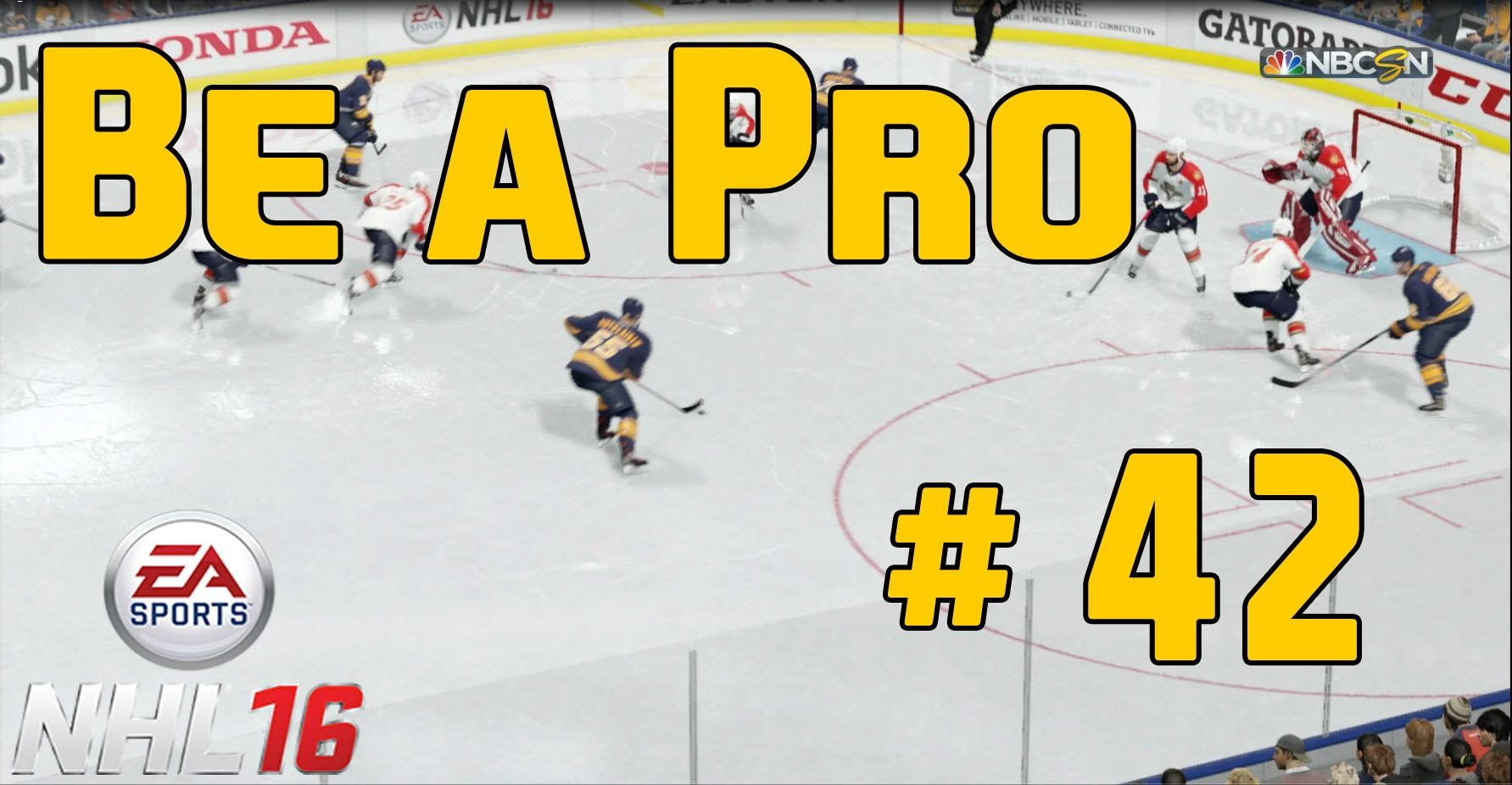 """NHL 16 Gameplay Be a Pro Episode 42 """"WTF....!??"""" Nhl"""