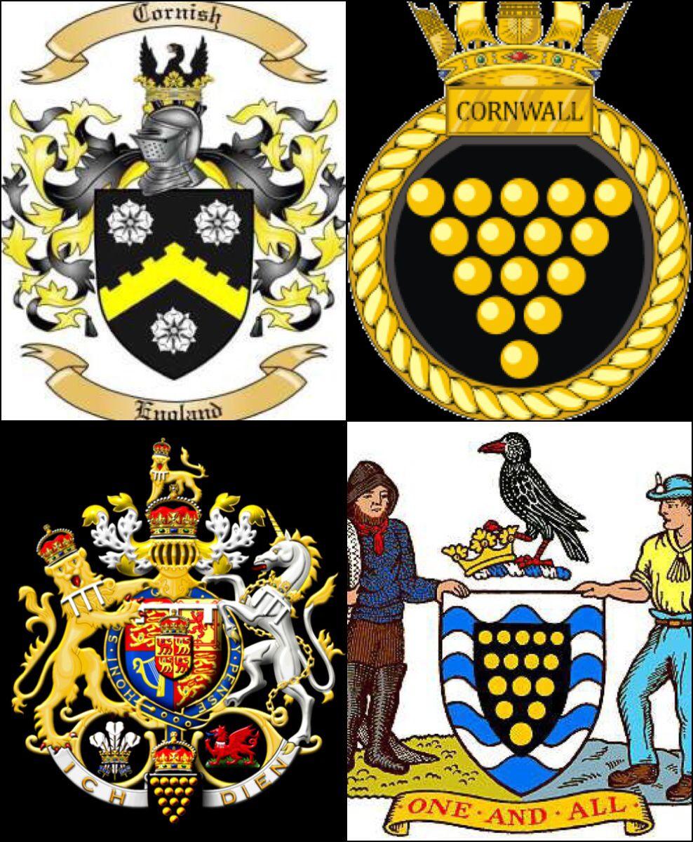 Cornish heraldry cornish coats of arms bottom left prince of cornish heraldry cornish coats of arms bottom left prince of wales duke of buycottarizona