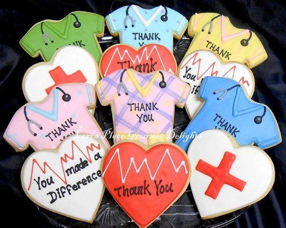 Doctor and Nurse Cookies - 12 Cookies