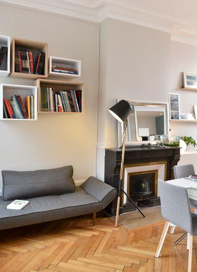 un appartement traversant marion lano architecte d 39 int rieur et d coratrice lyon deco. Black Bedroom Furniture Sets. Home Design Ideas