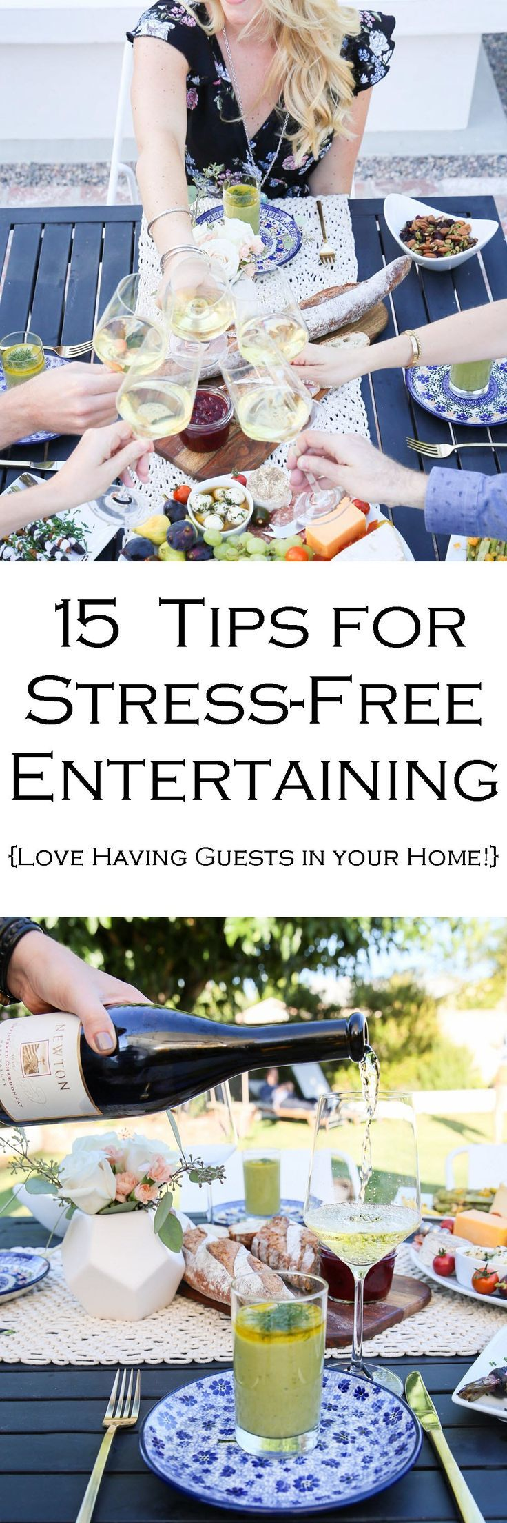 15 Easy Entertaining Tips for Dinner Guests | Party guests, Dinners ...