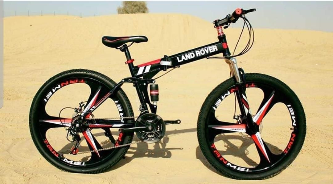 Landrover Gt Foldable Bicycle With Images Foldable Bicycle