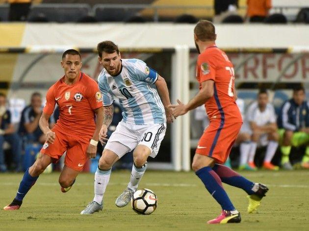 Argentina Vs Chile En Vivo Online Final Copa América 2016