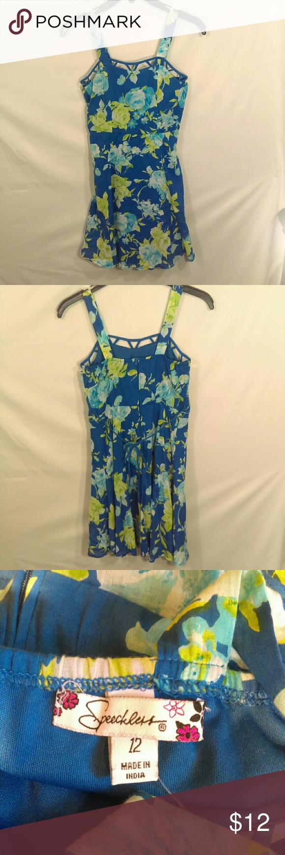 Speechless Girl S Summer Dress Size 12 Summer Dresses Girls Dresses Summer Dresses [ 1740 x 580 Pixel ]