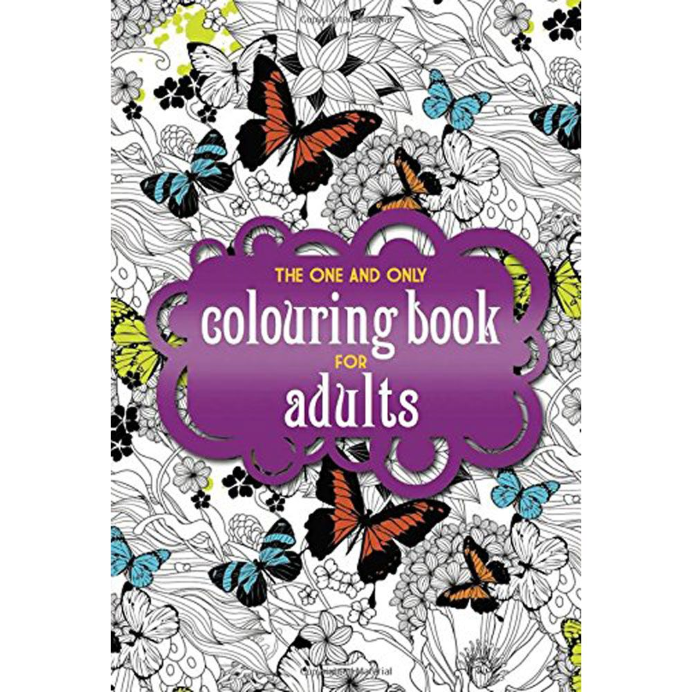 Buy One And Only Colouring Book For Adults Online From The Works Visit Now To