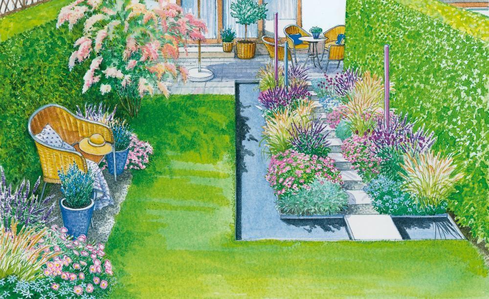 Ein Reihenhausgarten aus der Reihe - reihenhausgarten vorher nachher