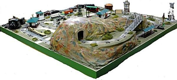 lionel postwar d 132 dealer train layout model train