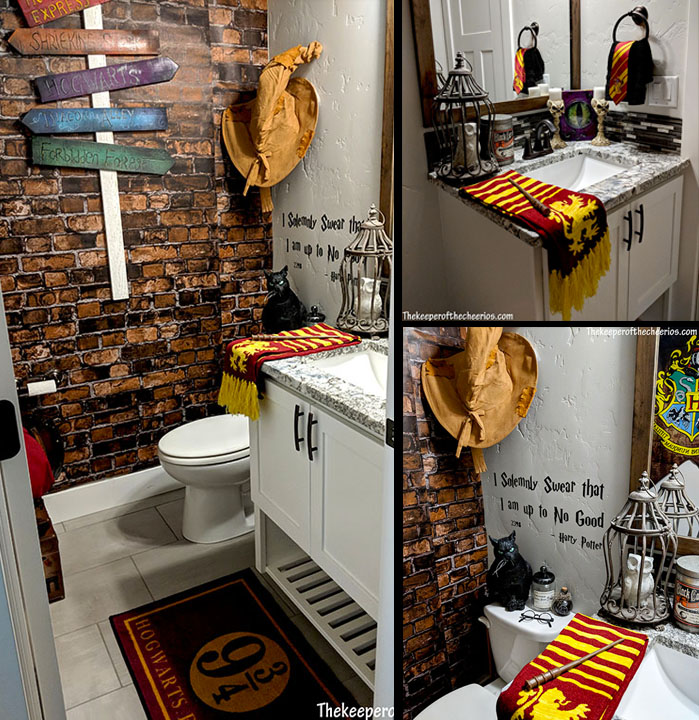 Photo of Harry Potter Bathroom – The Keeper of the Cheerios