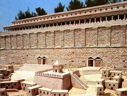The Huldah Gates First Century Jerusalem Bible History Online Bible History Bible Land Jerusalem