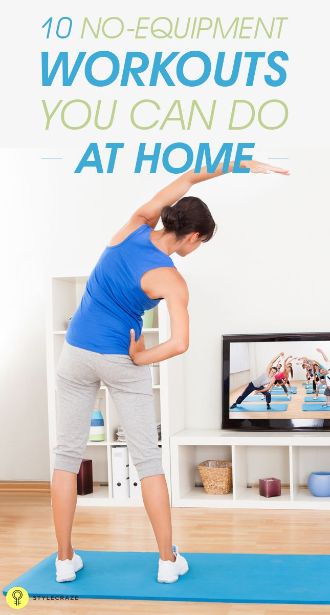 21 Best Bodyweight Exercises To Get A Fit Body At Home