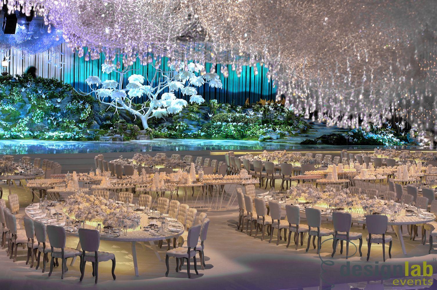 Lucid Dream Wedding Setup By Designlab Events 2nd Jan 2014