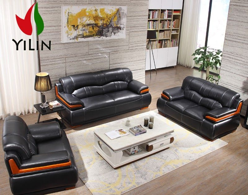 Solid Wood Frame Leather Sofas In 2020