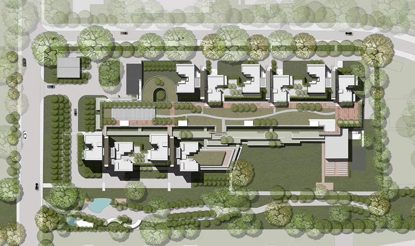 Green Bridges Link Skyterrace Dawson In Singapore By Scda Architects Scda Architects Architect Site Plan