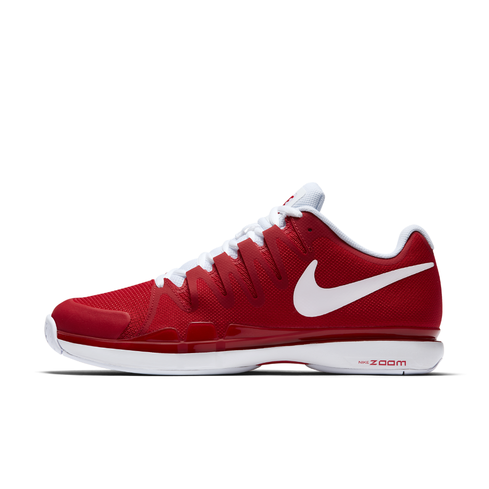 Shoe 5 Vapor 15 Nikecourt Tennis Nike Size Tour Zoom Men's 9 red xwpn87