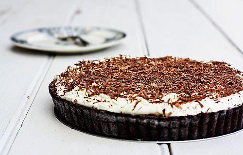 chocolate banoffee tart