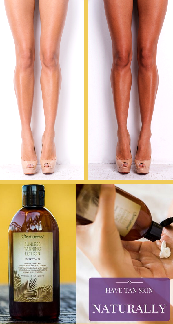 sunless tanning dark tones it is made with nature s vitamin rich