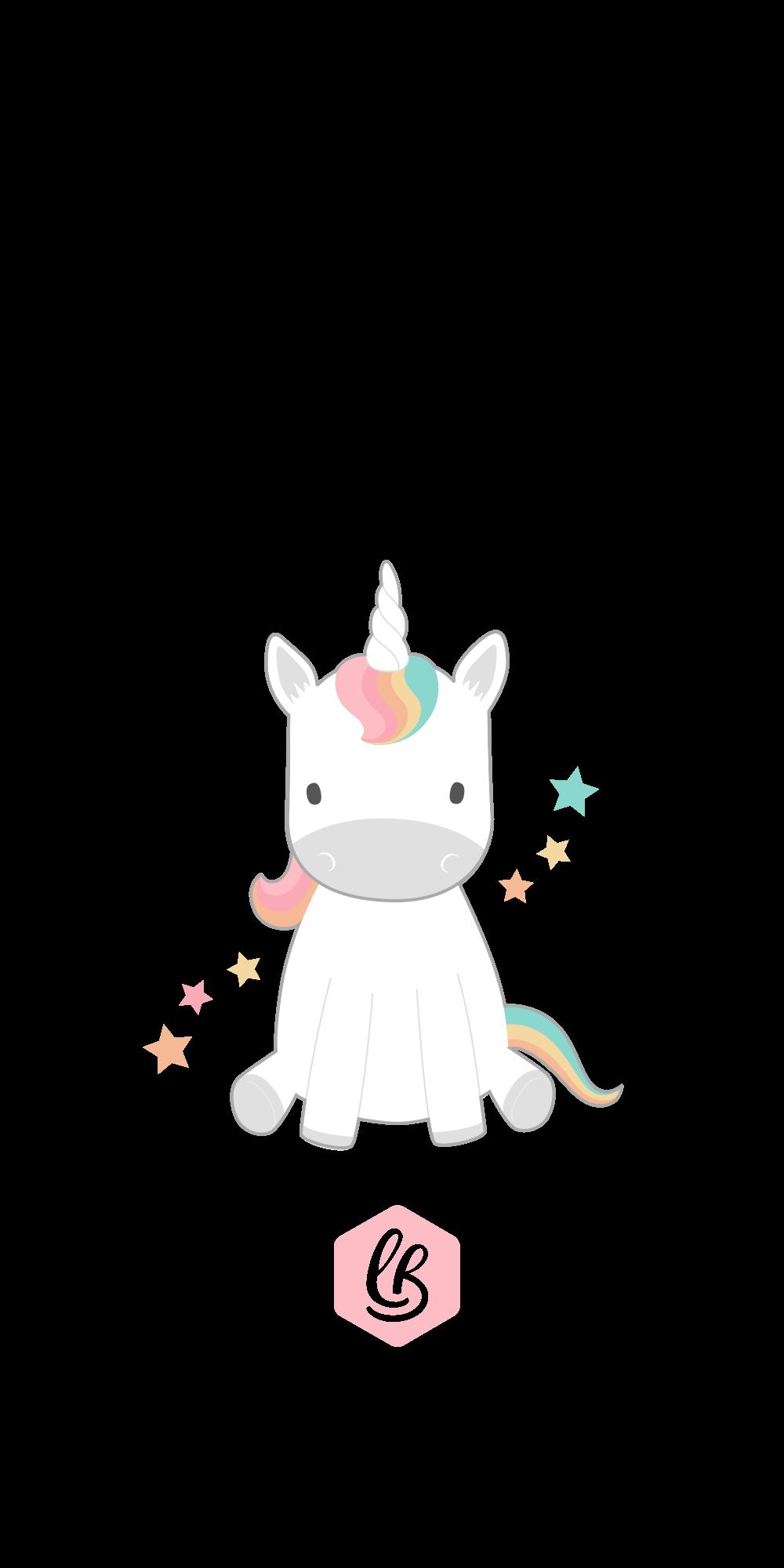 Iphone 8 Plus Case Unicorn By Lynn Doodles Dengan Gambar