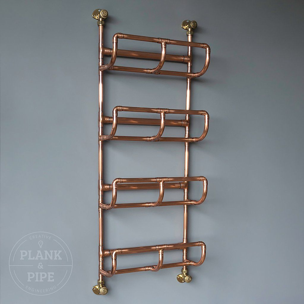 Copper pipe towel rack | eserce | Pinterest | Pipes, Towels and ...