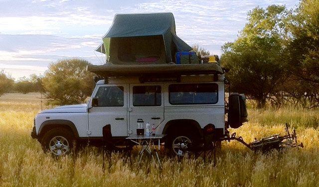 Land Rover Defender Caravan