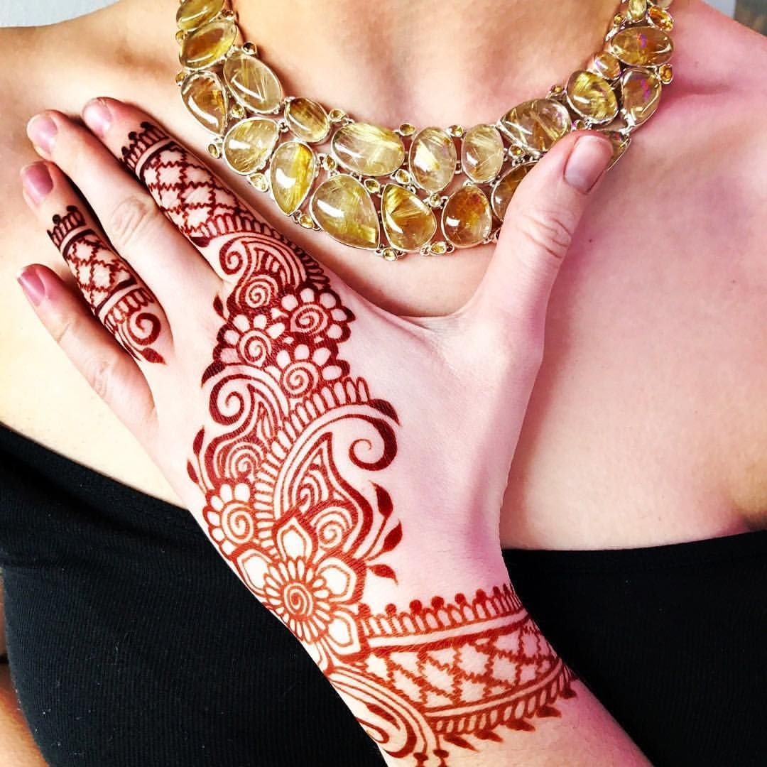 24 Henna Tattoos By Rachel Goldman You Must See: SARAHENNA (@sarahennaseattle