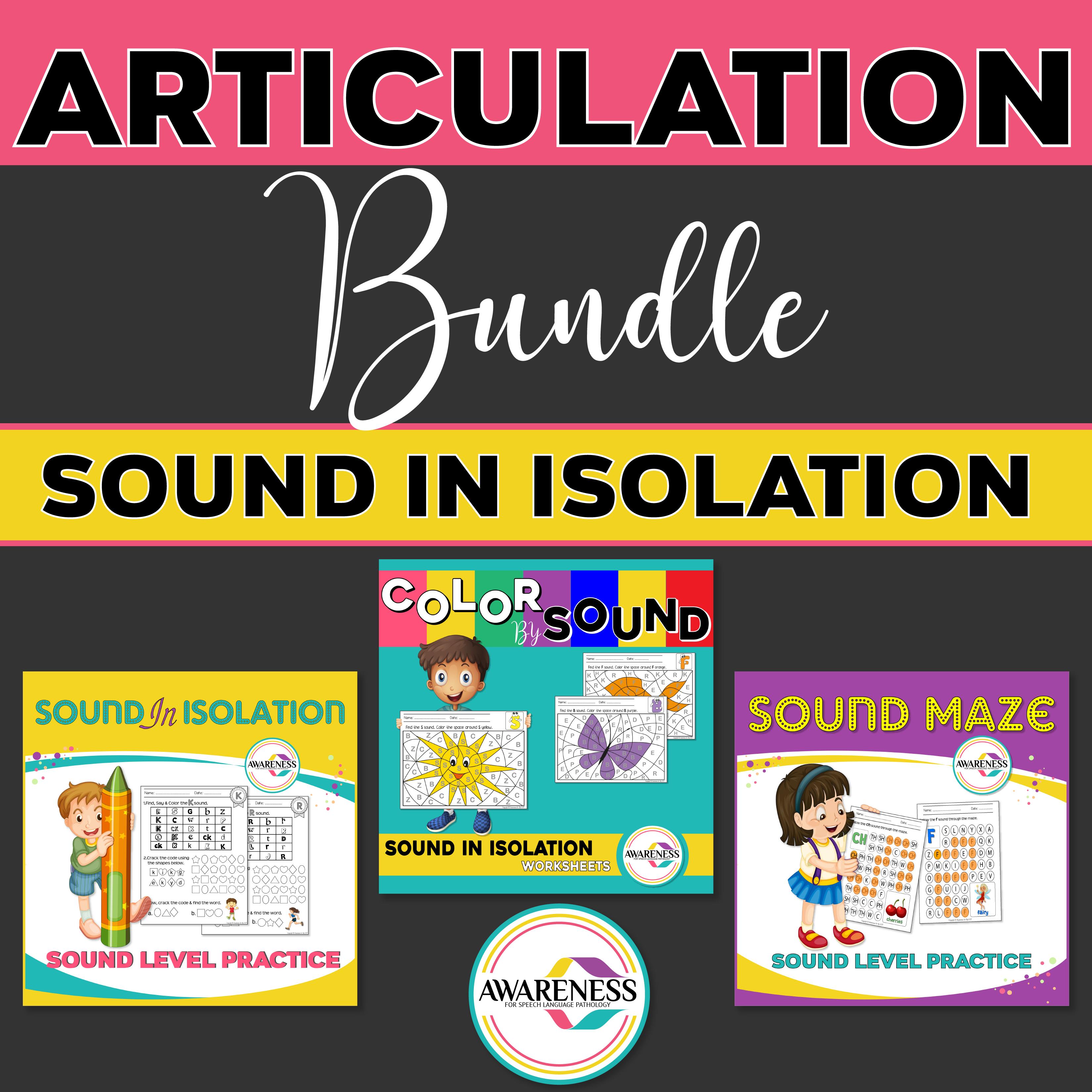 Articulation Sound In Isolation