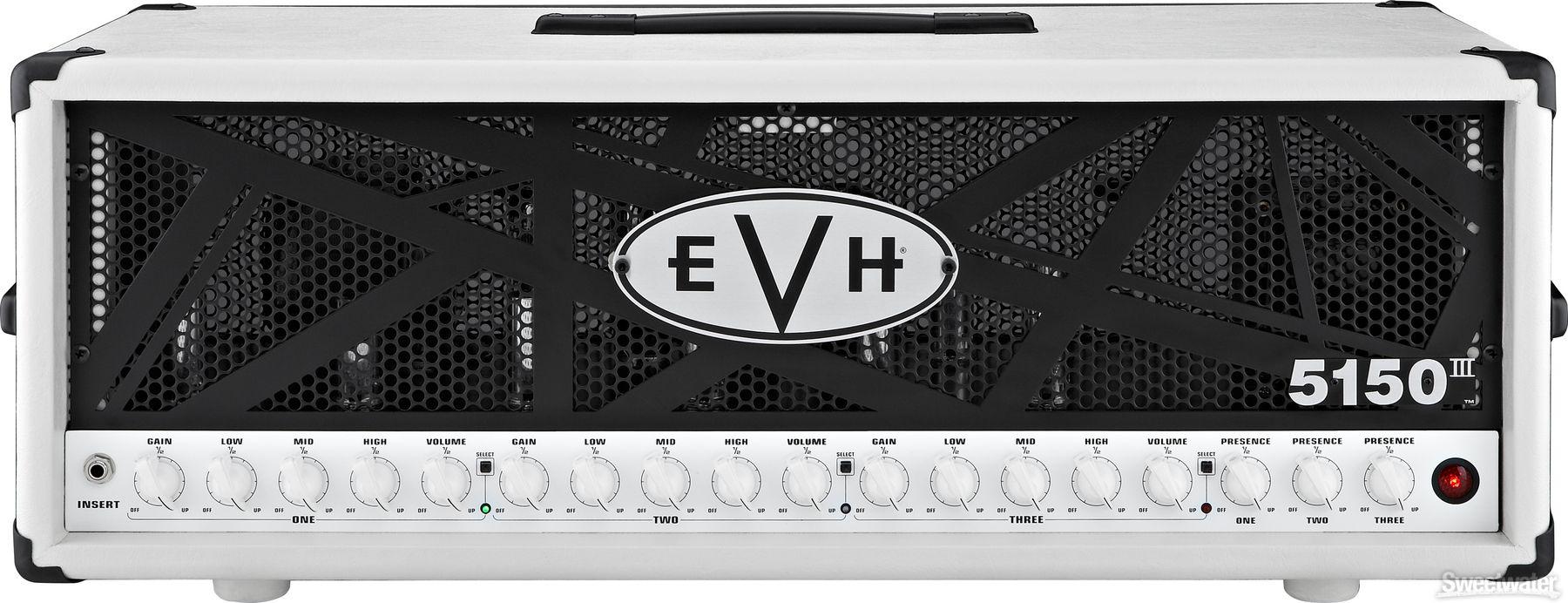 EVH 5150 III Head (Ivory) Van halen 5150, Eddie van