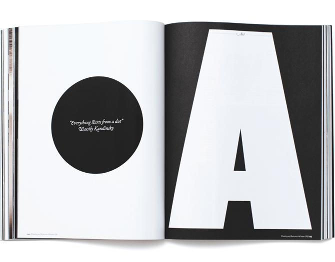 #so65 #type http://www.davidloewe.de Plastique Magazine Art Direction: Matt Willey Design: Matt Curtis, David Löwe