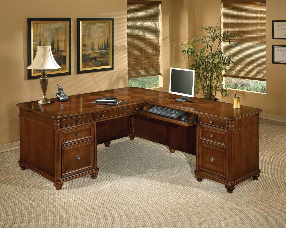Executive Desk L Shape - Luxury Home Office Furniture Check more ...