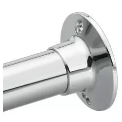 Donner 60 Straight Shower Curtain Rod Shower Curtain Rods