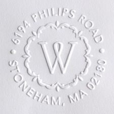 Return Address Embossers So Stylish And Would Be Functional If You Have A Custom EmbosserWedding Paper DivasBridal