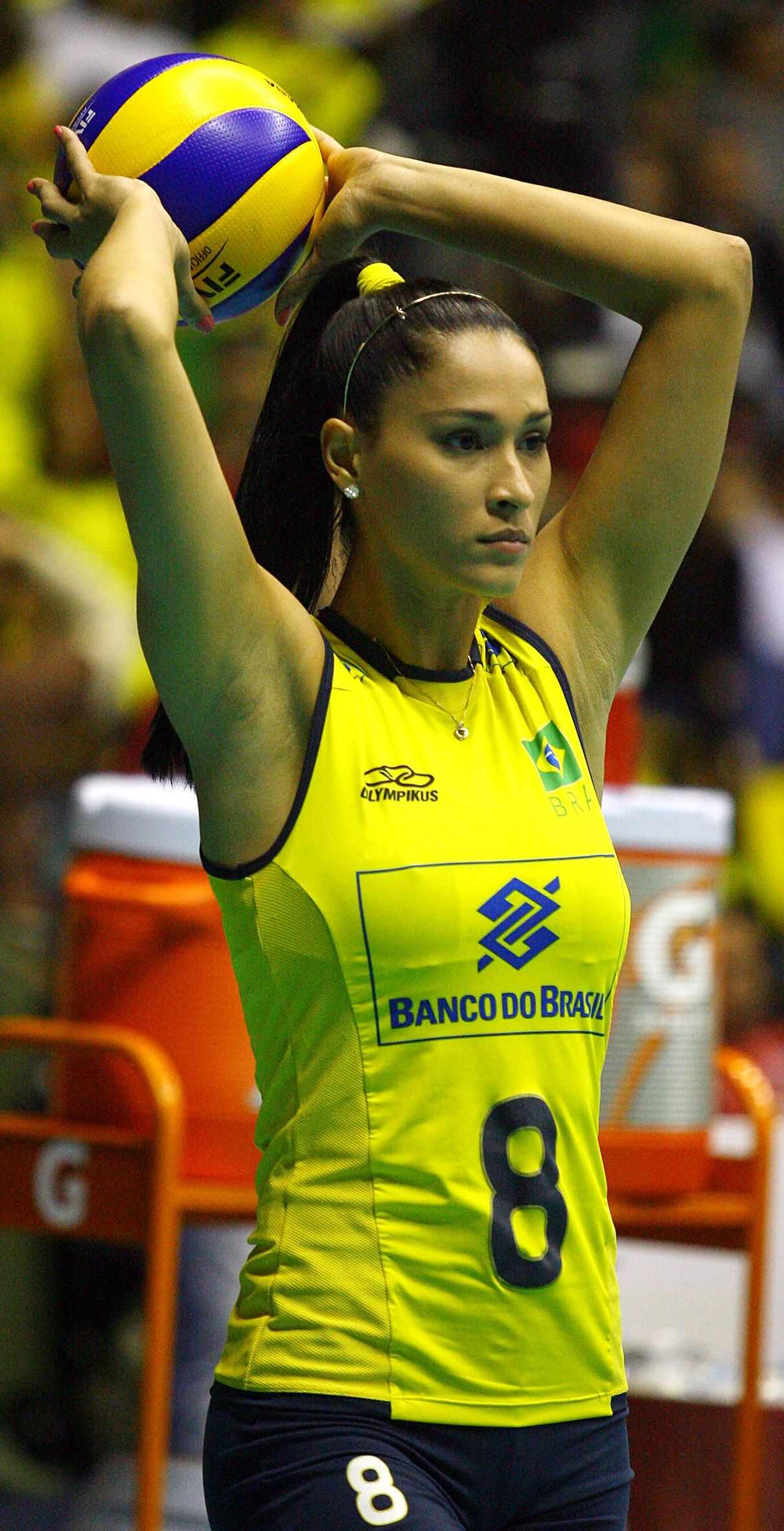Jaqueline Maria Pereira De Carvalho Endres Brazilian Volleyball Player Volleyball Femenino Atleta Atletismo