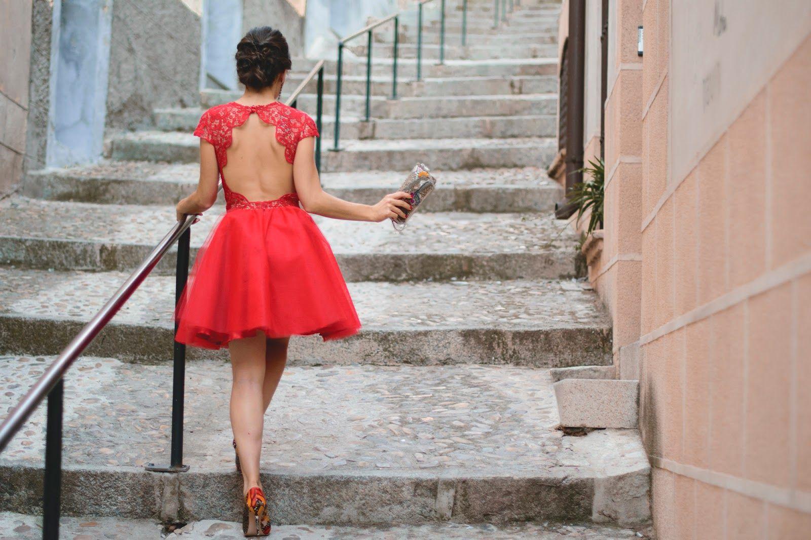 Vestidos rojos silvia navarro