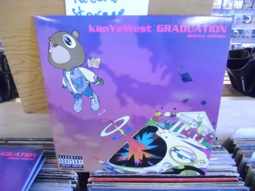 Electronics Cars Fashion Collectibles Coupons And More Ebay Kanye West Graduation Vinyl Black And Red