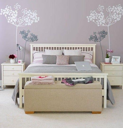 Pareti della camera da letto: idee per colori e decorazioni ...