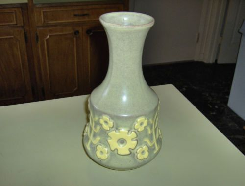 North Carolina Hyalyn Pottery 619 Vase Rare Design 10