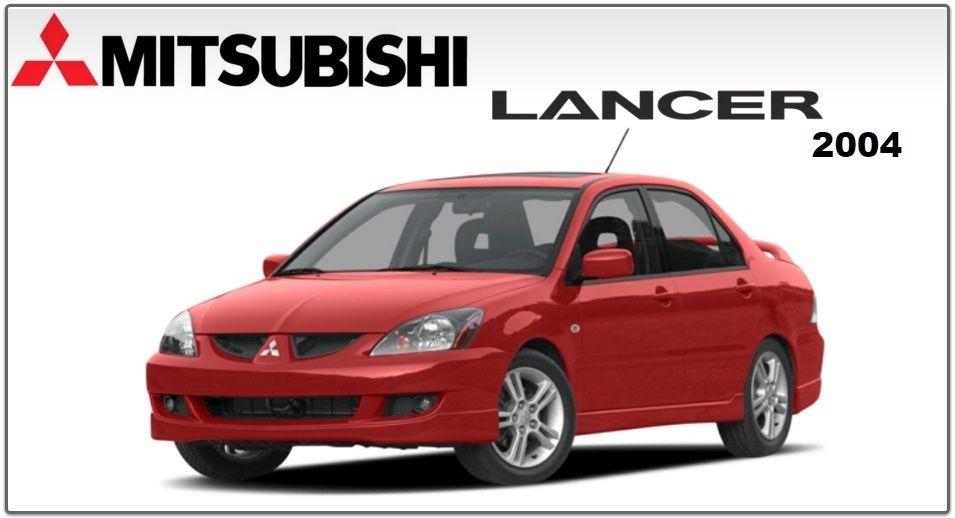 Mitsubishi Lancer Lancer Wagon 2004 Factory Service Manual Mitsubishi Lancer Mitsubishi Lancer