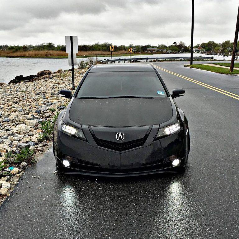 Erick's 2011 Acura TL With Jewel Eye Head Light Conversion