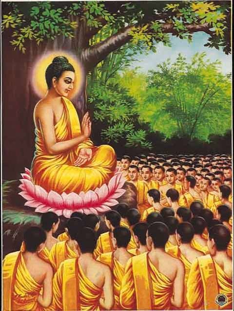 The Buddha's First Teaching | Paintings | Pinterest | Buddha, Lord ...