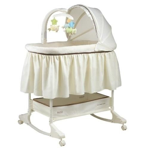 Fisher Price My Little Lamb Rocking Bassinet Rocking